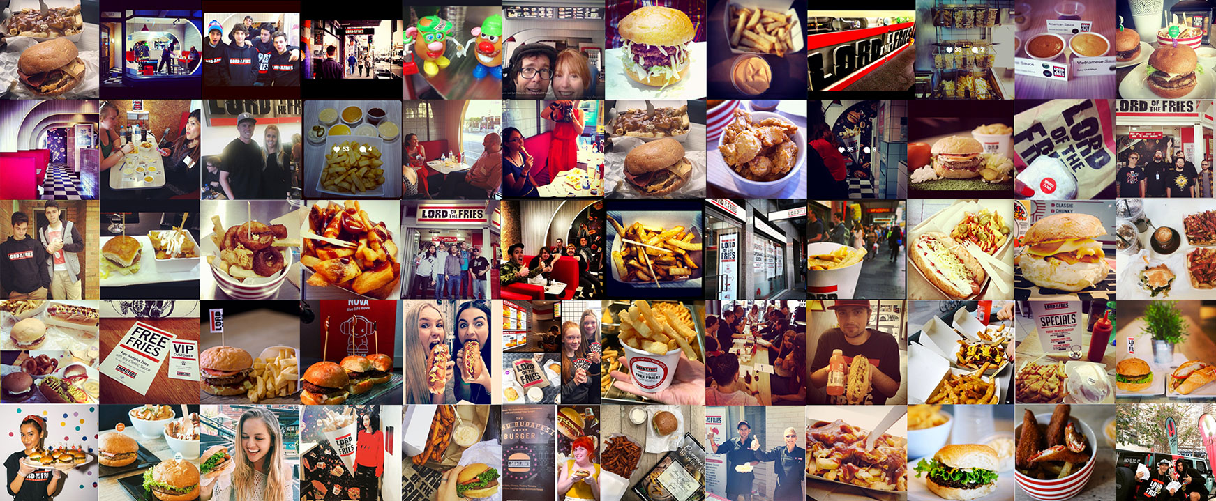 Lord of the fries - images from our happy customers